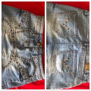 Candie's Jeans skirt size 5